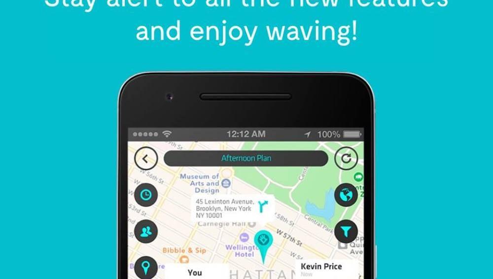 Wave, nueva app