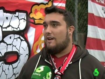 Aficionado del Sporting de Gijón se posiciona a favor del Pichu Cuéllar