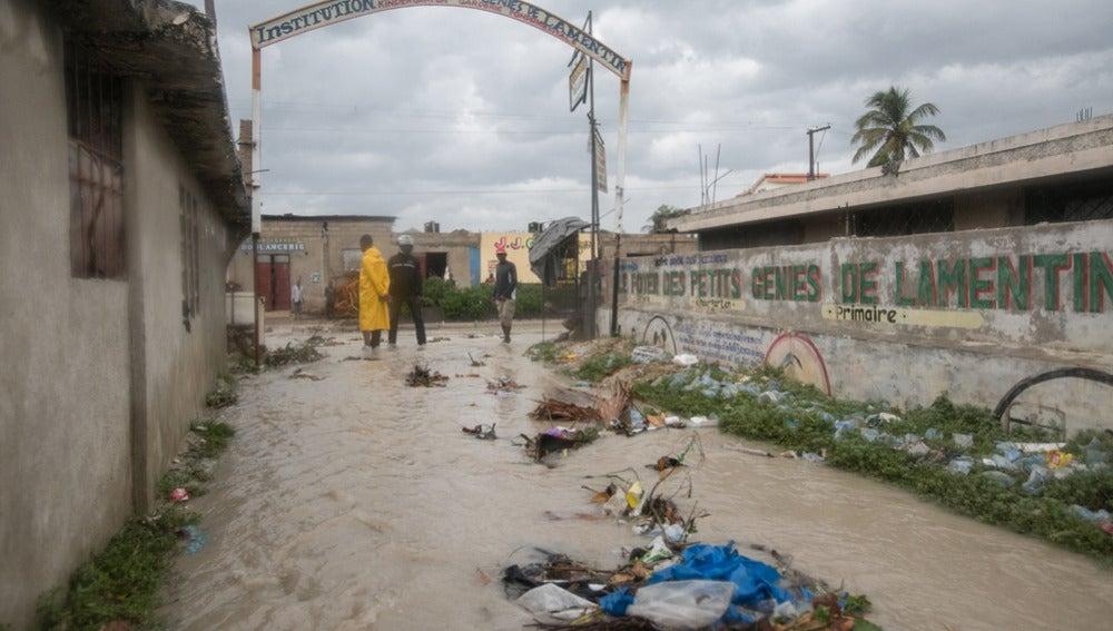 Consecuencias del paso del huracán Matthew en Haití