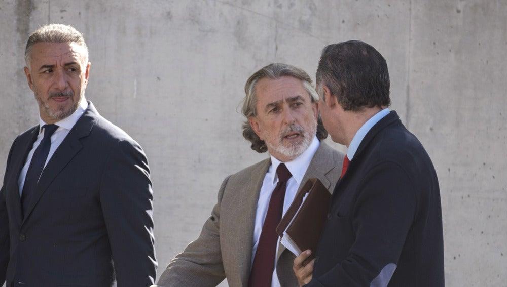 Francisco Correa a su llegada a los juzgados