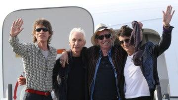 La banda británica de rock The Rolling Stones