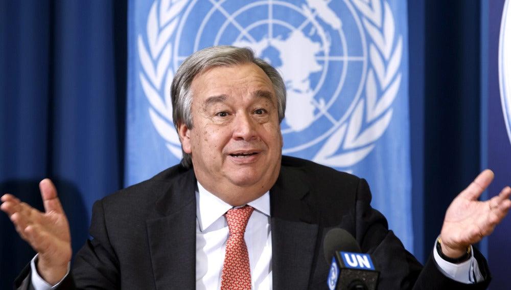 El portugués Antonio Guterres en una imagen de archivo