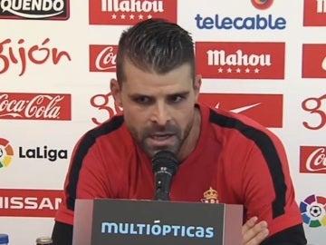 Pichu Cuéllar durante la rueda de prensa