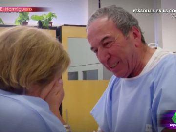 La sorpresa de José Luis Perales a una fan enferma  en un hospital