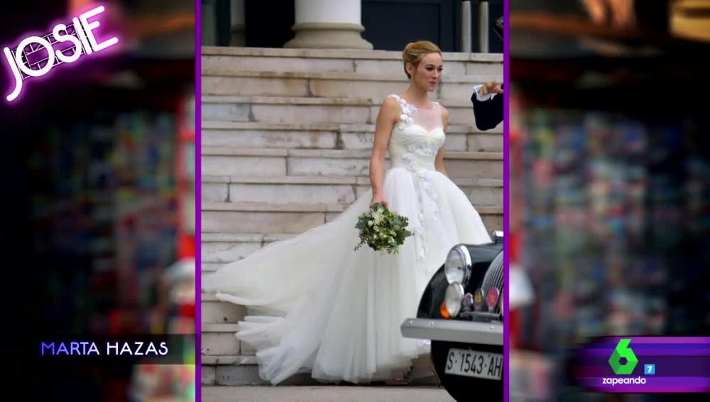 """josie comenta la boda de cuento de hadas de marta hazas: """"va mona"""