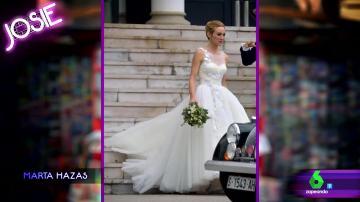 La boda de Marta Hazas