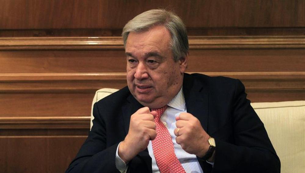 António Guterres para asumirá la Secretaría General de la ONU