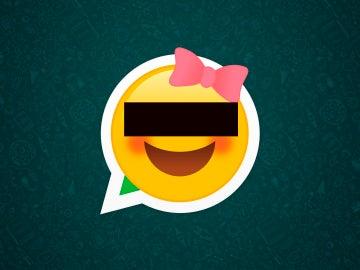 Icono de whatsapp para simbolizar la protección del menor