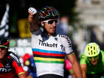 Peter Sagan, actual campeón del mundo de ciclismo en ruta