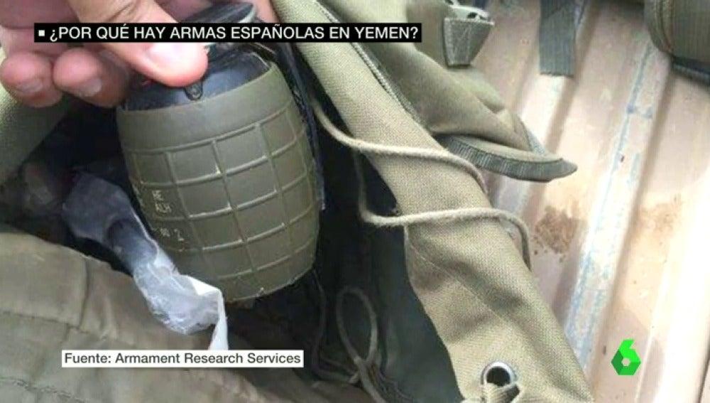 Frame 28.236565 de: armas españolas yemen