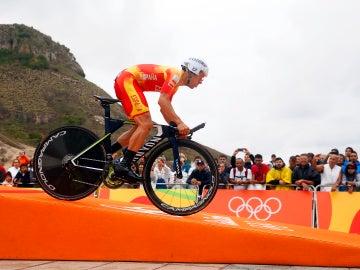 El español Castroviejo, durante la disputa de los Juegos de Río