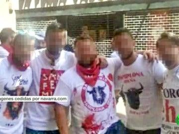 Acusados de la violación múltiple de San Fermín