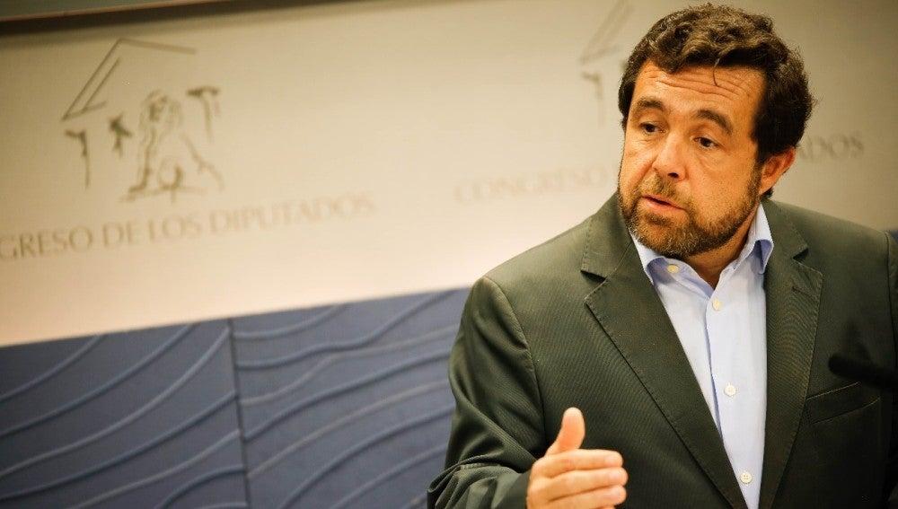 El secretario general de Ciudadanos en el Congreso, Miguel Gutiérrez.