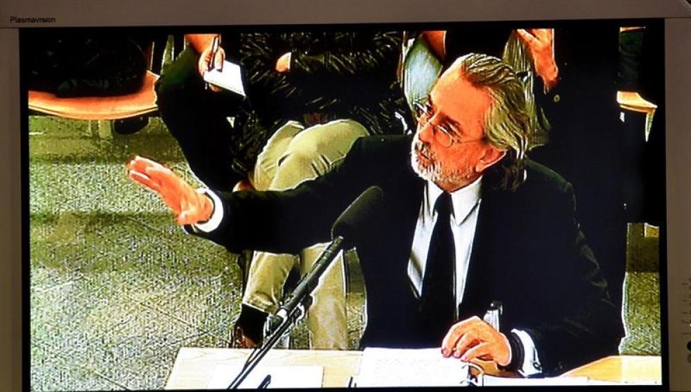Francisco Correa declara en el juicio de la Gürtel