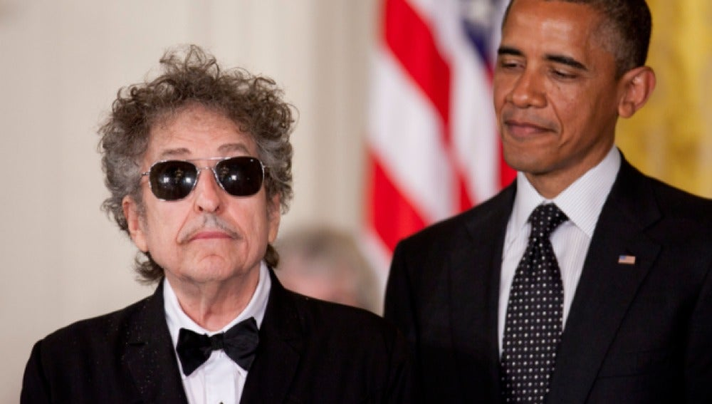 Bob Dylan y Barack Obama