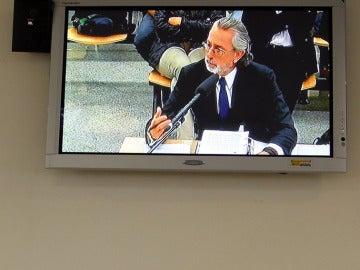 Francisco Correa declarando en el juicio de Gürtel