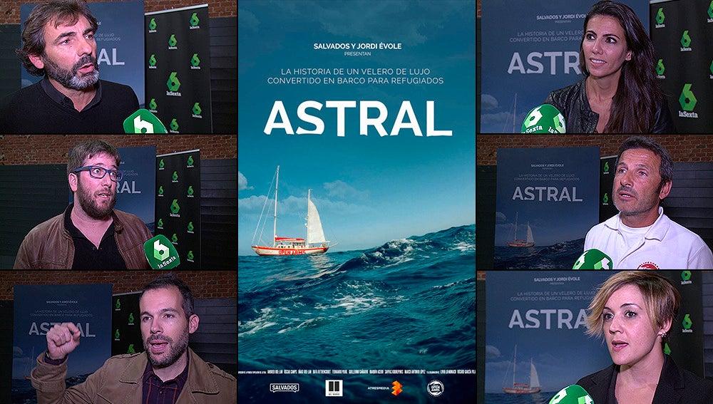 Premier de la película 'Astral' en Madrid