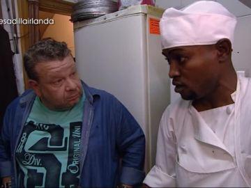 Sundy, el cocinero del Irlanda