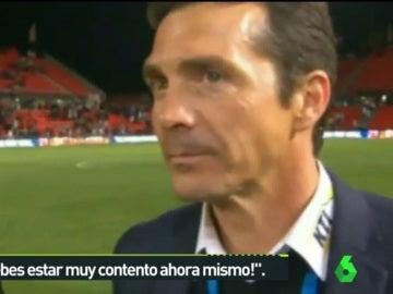 Guillermo Amor, exjugador del F. C Barcelona