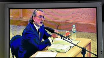 Francisco Correa, en el juicio de la Gürtel