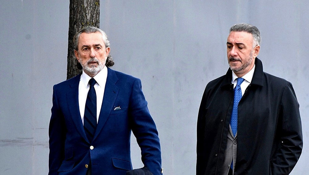 Correa llega a la Audiencia Nacional en San Fernando de Henares