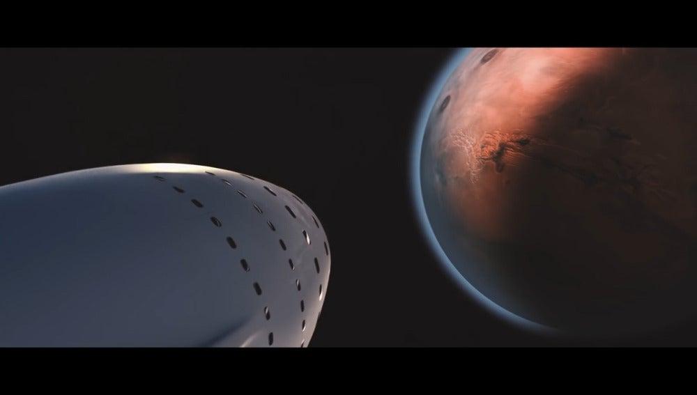 SpaceX hacia Marte