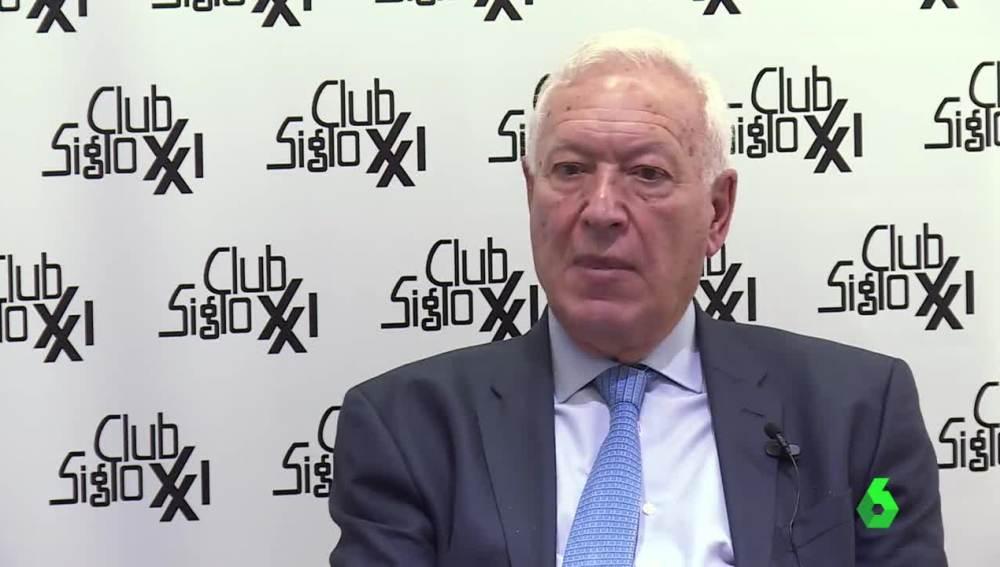 José Manuel García-Margallo, ministro de Asuntos Exteriores en funciones
