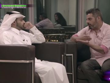 Jalis de la Serna entrevista a un jeque de Catar
