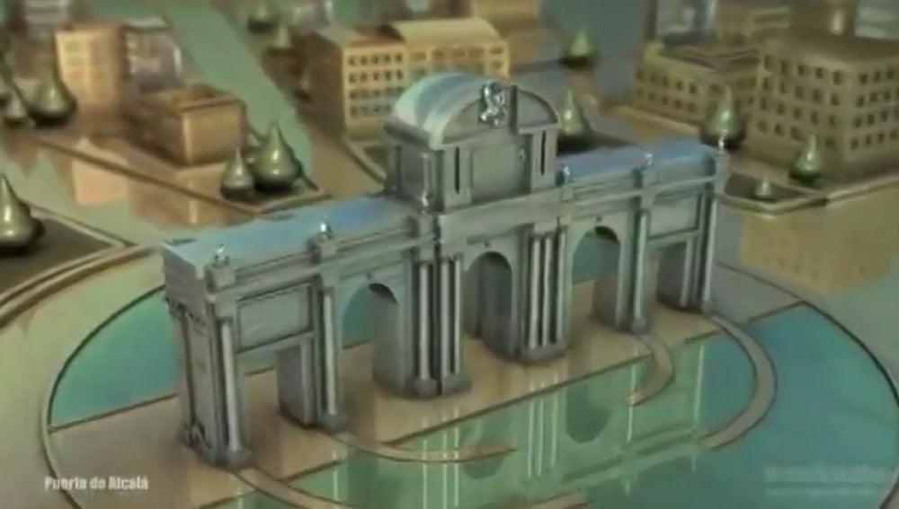 Frame 32.088211 de: Así sería la cabecera de Juego de Tronos en Madrid