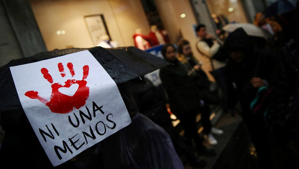 'Ni una menos', lema de la manifestación