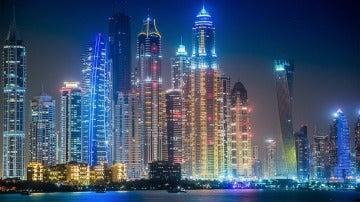 Dubái, de noche