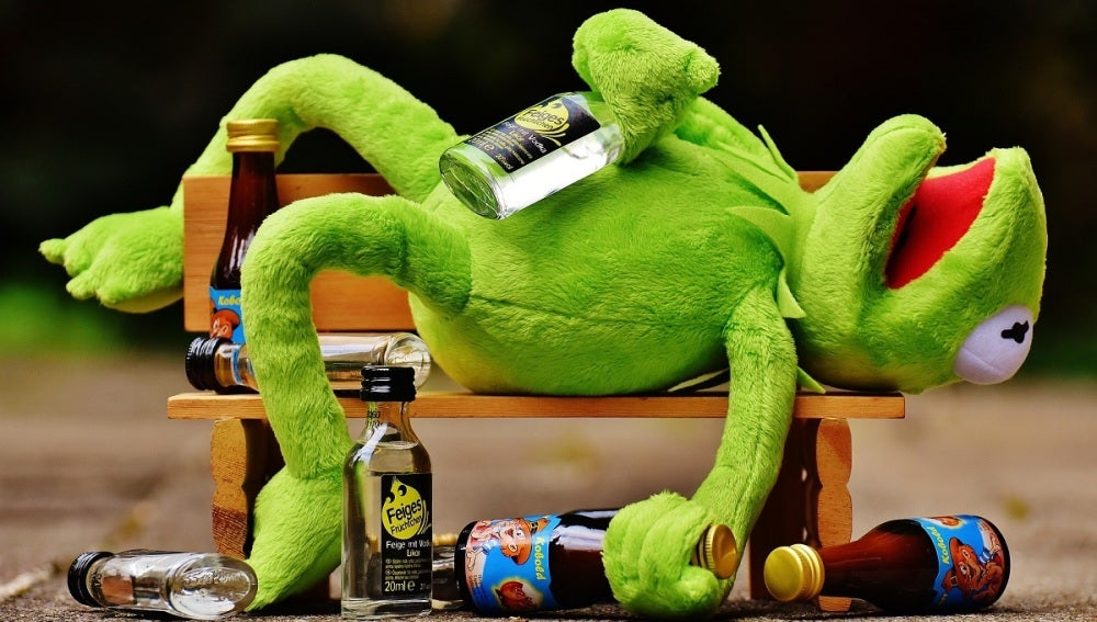 Cuidado con el alcohol