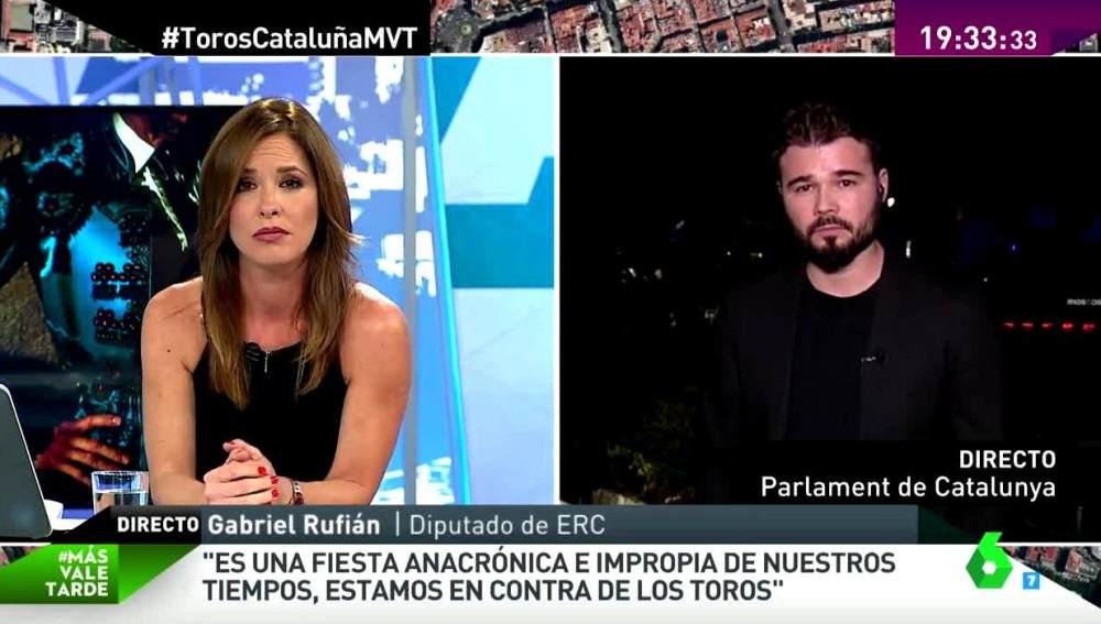 Gabriel Rufián en MVT