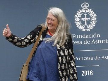 La historiadora británica Mary Beard, Premio Princesa de Asturias de Ciencias Sociales 2016