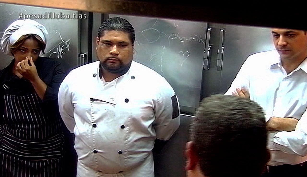 Ronal, el chef del Baltias