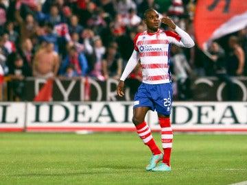 Ighalo, en un partido con el Granada