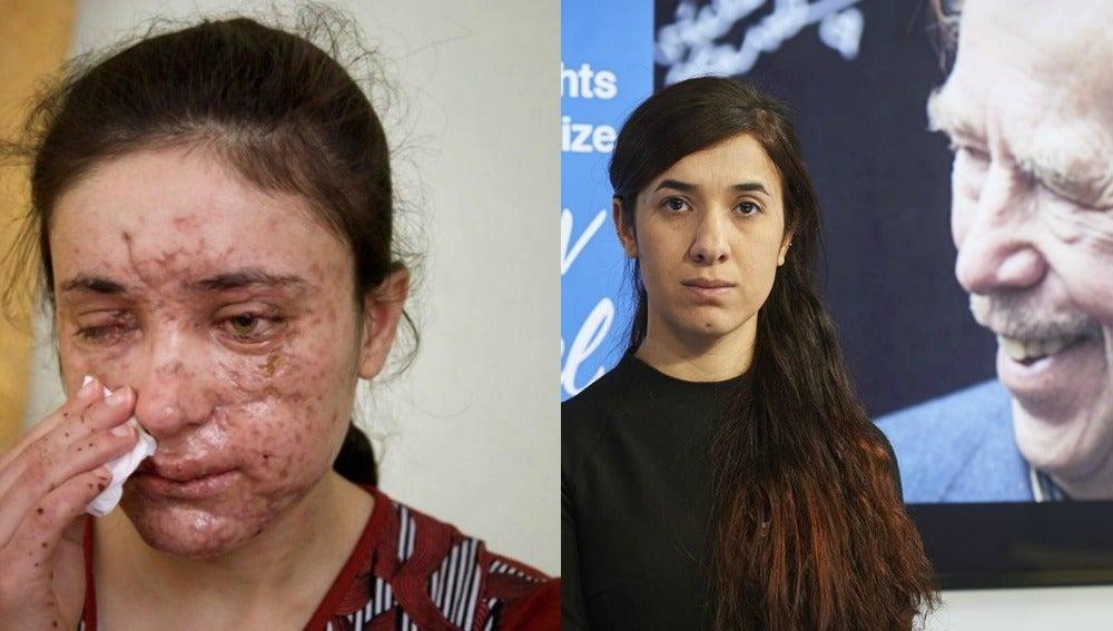 Dos víctimas del grupo terrorista Daesh, premiadas