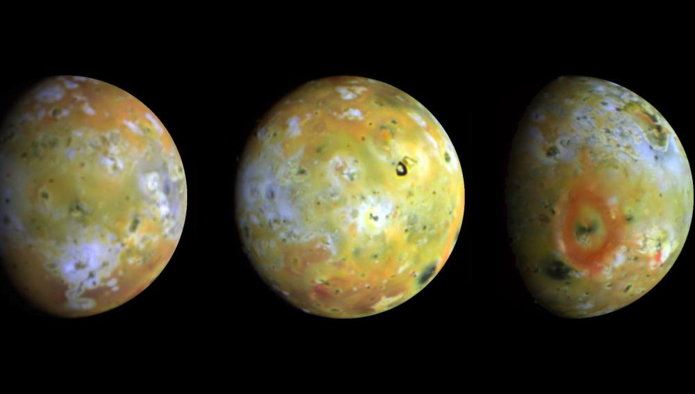 Cuatro lunas galileanas