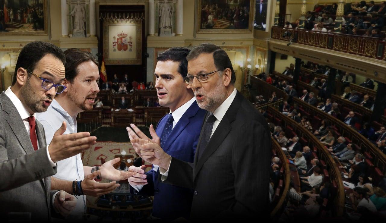 Sesión de investidura en el Congreso de los Diputados