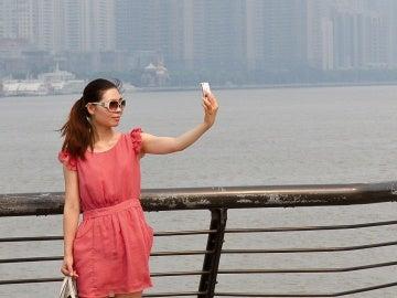 ¿Un selfie?