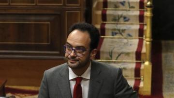 Antonio Hernando, en la sesión de investidura