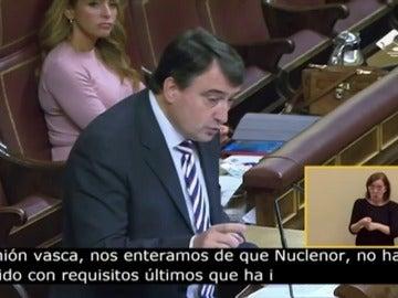 Frame 0.0 de: Aitor Esteban (PNV): Todos los partidos, incluido el PP, están en contra de la reapertura de Garoña