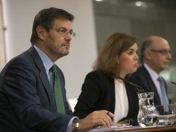 Rafael Catalá, Ministro de Justicia en funciones