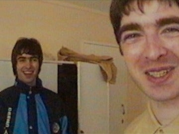 Liam y Noel Gallagher, integrantes de Oasis