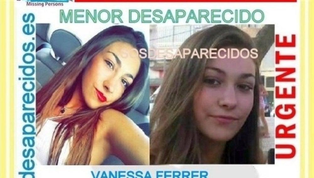 Menor desaparecida en Chella