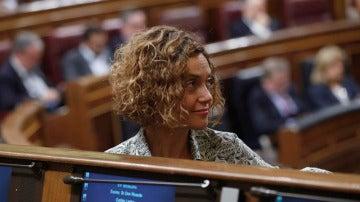 La portavoz adjunta del grupo socialista en el Congreso, Meritxell Batet