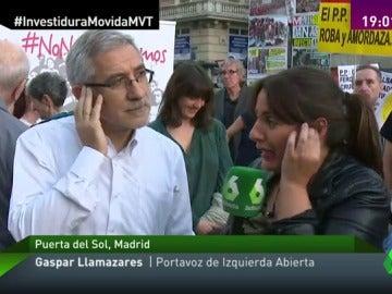 """Frame 17.291323 de: Gaspar Llamazares, sobre la investidura de Rajoy: """"Se va cometer un funeral porque no hay Gobierno de cambio"""""""