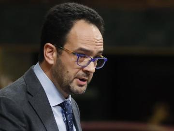 Antonio Hernando en el Congreso de los Diputados