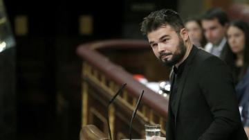 Gabriel Rufián, portavoz adjunto de ERC en el Congreso