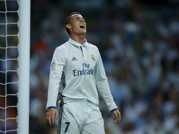 Ronaldo se lamenta